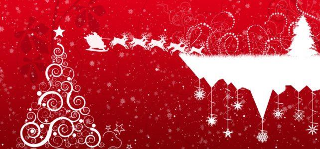 Tantissimi auguri di Buon Natale e Felice anno Nuovo